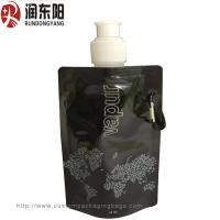Quality RDY Liquid Custom Printed Plastic Bags Nozzle Fresh Milk Solution Packaging Pouch for sale