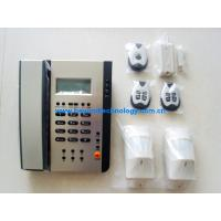 China Dual network PSTN and GSM alarm system with built in phone CX-217 on sale