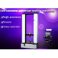 Quality Two Columns Universal Testing Machine , 50KN Textile Testing Machine Computer Control for sale
