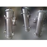 0.1 mm Automatic Backwash Filter For Rivers / V - Shaped Industrial Water Filters