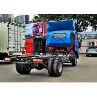 Quality 3 - 5 Tons 4x2 Light Duty Truck Chassis For Water Tank / Closed Van Truck for sale