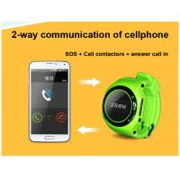 Quality Multi function smart children GPS watch cellphone gps tracker with SOS and alarm can call for sale