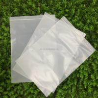 Quality 100% Biodegradable Corn Starch Compostable Ziplock Bag White Customizable PLA for sale