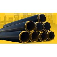 Quality polyethylene protective tube and polyurethane foam insulation equipment for steel pipe for sale