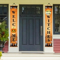Quality Double Sided Halloween 30x45cm Decorative Garden Flags for sale