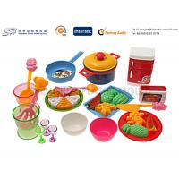Quality Customize promotion safe Small plastic food toys For Kids , toddlers toys for sale