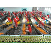 China Plastic Cup Canned Food Production Line , Fruit And Vegetable Processing Equipment on sale