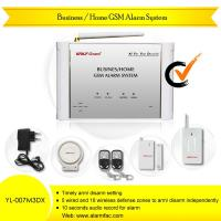 China Business/Home GSM Alarm System(YL-007M3DX) With Two-way Intercom And Wireless PIR Sensor on sale