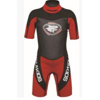 Quality Nylon Neoprene Surf Suit Long Sleeve Shorty Wetsuit Lightweight for sale