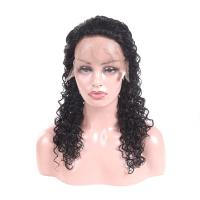China Real Full Lace Human Hair Wigs With Baby Hair Deep Wave Trade Assurance on sale