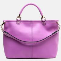 Best 5 Color Business Style Clear Surface Large Leather Tote Bags wholesale
