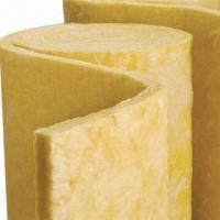 Quality Glass wool blanket, easy to handle and install for sale