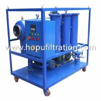 Quality portable insulation oil filter machine, remove moisture,gas, PCB,ZY Series Single Stage Vacuum Transformer Oil Purifier for sale