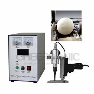 China Ultrasonic Sealing Machine / Ultrasonic Bag Sealing Machine With Non - Thermoplastic Materials on sale