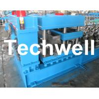 Quality Grain Silo Corrugated Steel Sheet Roll Forming Machine For Corrugated Wall Panels for sale