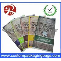 Quality Custom Recycled Plastic Food Packaging Bags , Popcorn Packaging Bags for sale