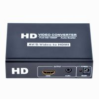 Quality CVBS+S-Video+R/L Audio to Converter Supports OSD Menu Operation for sale