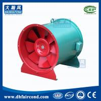 Buy DHF industrial commercial Fire-fighting smoke-exhaust fan with high temp air at wholesale prices