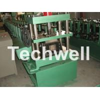 Quality GCr15 Steel Roller, High Speed Shelf Roll Forming Machine For 1.8 - 2.3mm Material for sale