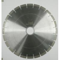 China Fast Cutting Speed Durable Diamond Saw Blades For Cutting Granite / Marble on sale