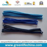 Quality Factory Wholesales Stock 2.5x150/180mm 3.0x168mm Eco-friendly Soft PVC Hangers for sale