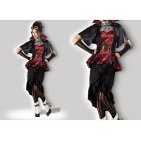 Buy Steampunk Vampiress 1089 Ladies Halloween Costumes , Superwoman Adult Halloween Costumes at wholesale prices
