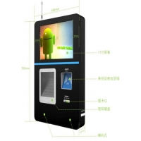 Quality 220V Wall Mounted Self Service Payment Kiosk Touch screen for sale