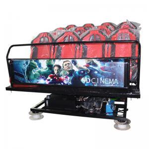 Quality High Performance Cinema Simulator Game 5D 7D 9D 6 Dof Dynamic Motion Platform for sale