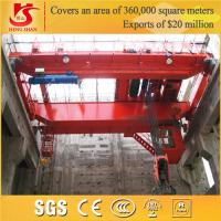hy crane low noise electric qd double girder 50t overhead