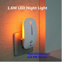 Quality The Mouse Shape Optical and Motion Induction LED Night Light for sale