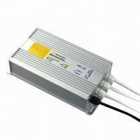 Quality Water-resistant LED Power Supply with 170V to 250V AC Input Voltages and Constant Voltage Control for sale