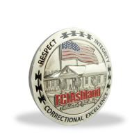 Buy Stamping Engraved Collectible Souvenir Coins Single Side For Anniversary at wholesale prices
