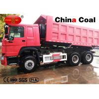 Self Loading Tipper Truck Logistics Equipment With Reliable Engine