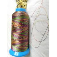 Quality High strength quilting thread rainbow color polyester 150D/3(size 30) for sale