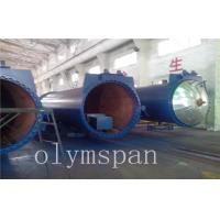 Quality Food Rubber AAC Autoclave Pressure Vessel For Chemical / Textile / Wood for sale