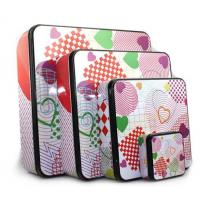 Quality wholesale square holiday tins company for sale