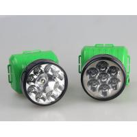 Most power OEM rechargeable multiple LED head flashlight