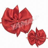 Best Satin Ribbon Bow for Gift Packaging, Made of 100% Polyester and Satin, OEM Orders are Accepted wholesale
