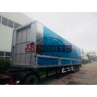 Quality Aluminum Container Semi Trailer 3 Axles Hydraulic Wing Van Trailer for sale