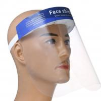 Quality Anti Fog Disposable Protective Face Shield PET Spatter Prevent Protection for sale