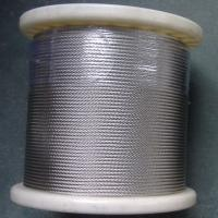 China multi strand stainless wire rope on sale