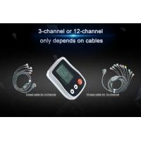 Buy cheap Ambulatory ECG Monitoring 24 Hours to 72 Hours Detecting White And Smart Holter from wholesalers