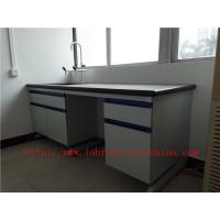 Quality Resistant To  strongest Corrosion /  Acid / Alkali 3000 mm Blue  Science Computer Lab  Furniture  Designs  For  Laborato for sale