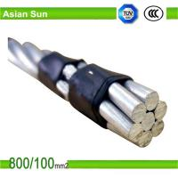 Buy cheap 600V aerial insulated cable with AAC/ACSR/AAAC bare Conductor from wholesalers