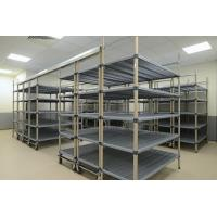 Quality SS High Density Storage System Rust - Resistant Overhead Rail PP Shelf Chrome Plated For Walk - In Freezers for sale