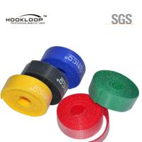 Beautiful Colored Hook And Loop Fastening Tape Adhesive Velcro Sticky Tape Flame Retardant