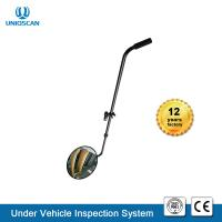 Quality Round Convex Acrylic IP68 30cm Under Vehicle Checking Mirror for sale