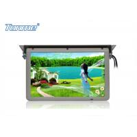 Best 19 inch Motorized Roof Bus LCD Monitor with Stepper Motor , Built in SD / USB / HDMI Port wholesale