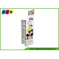 POP Cardboard Toy Display Stand With Pallet Cut Base And Graphics Printing FL162