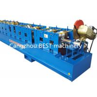 Buy cheap High Standard Steel Downspout Rain Water Gutter Rolling Forming Machine 3 kw from wholesalers